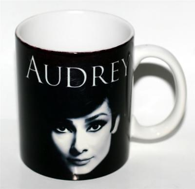 AUDREY HEPBURN Hollywood Movie Star Breakfast at Tiffanys 12 oz CERAMIC MUG - Breakfast At Tiffanys Star