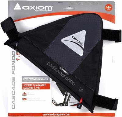 Axiom Cascade Fondo 1.5 Triangle Bike Frame Bag Portage CX MTB Commuter 1.5L