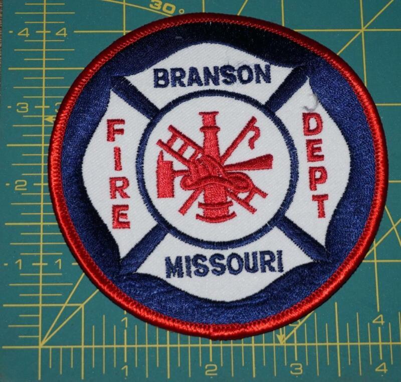 BRANSON MISSOURI Fire Dept FIRE DEPARTMENT PATCH (0131)