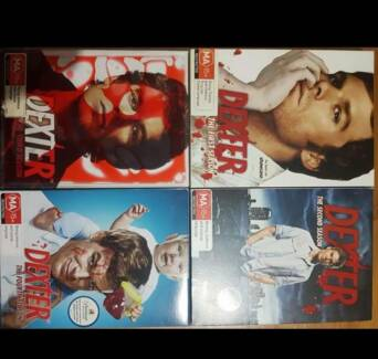 Dexter season 1-4