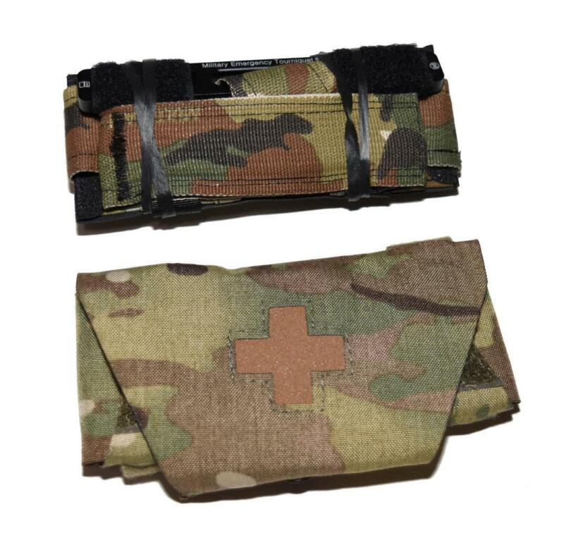 TQS MET Multicam Tactical Tourniquet w/ Pouch - SEAL DEVGRU CAG SOF NSW IFAK