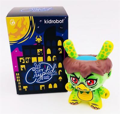 CITY CRYPTID DUNNY ANGRY KAPPA SCOTT TOLLESON CHASE VINYL FIGURE KIDROBOT for sale  Shipping to India