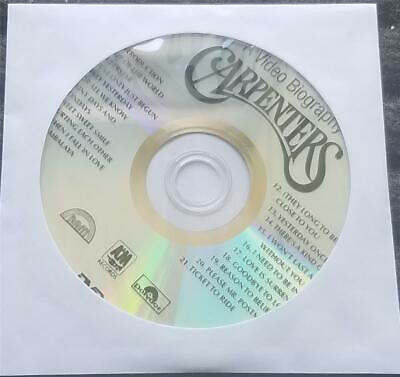 CARPENTERS DVD KARAOKE GREATEST HITS - 21 TRACKS - MULTIPLEX SUPERSTAR,GOODBYE