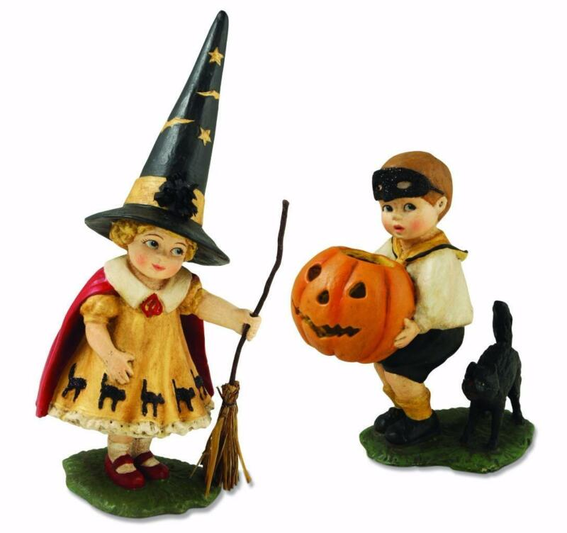 Bethany Lowe Trick or Treat Collection Halloween Trick or Treater, 2 Figures