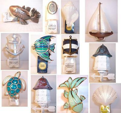 Bath & Body Works Wallflower Diffuser Shell Fish Koi Seahorse Boat Conch Clam