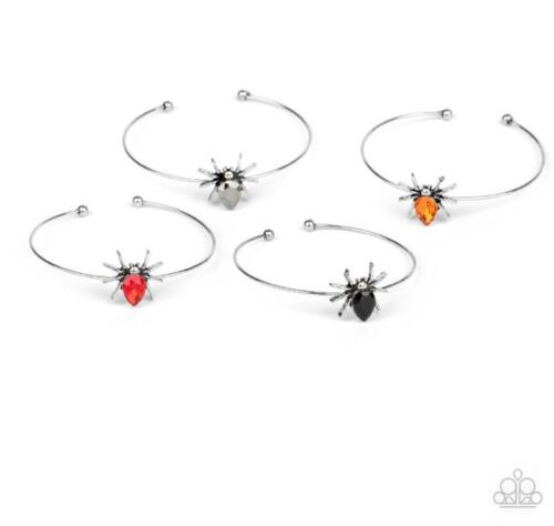 Brand New Paparazzi Starlet Shimmer Halloween Spider Cuff Bracelets (Colors)