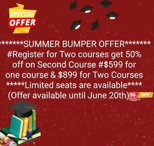 Get Amazing Discount on Credit Courses and Tutoring
