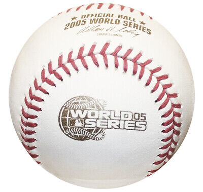 2005 World Series Rawlings MLB Official Game Baseball White Sox -