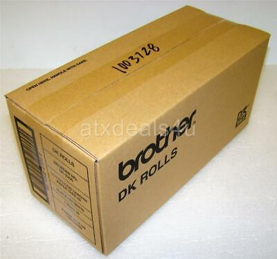 Brother Dk-2205 Continuous Length White Paper Tape Label Roll New Sealed 3-pk