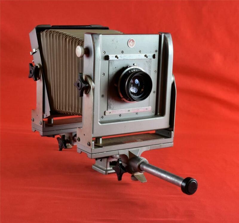 Calumet Monorail 4x5 Camera with Graflex Optra Lens