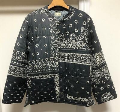 KAPITAL bandana patchwork Quilting Blouson Jacket brand new black