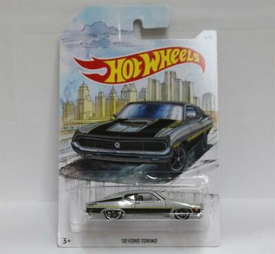 Hot Wheels 1:64 Walmart Exclusive Detroit Muscle 1969 FORD TORINO GT 6/6