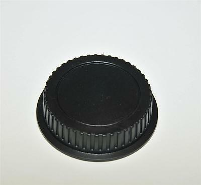 COMPATIBLE WITH CANON EOS REAR LENS CAP COVER FITS ALL EF LENSES GENERIC