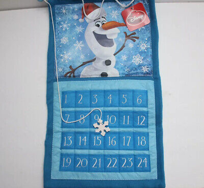 Disney Frozen Advent Calendar Olaf Christmas Count Down Anna and Elsa New!