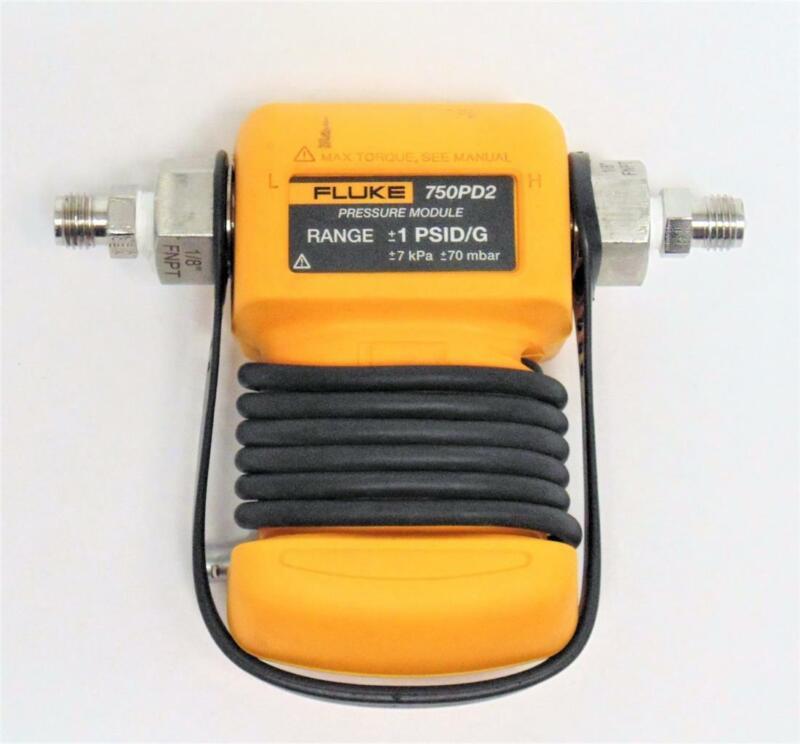 Fluke 750PD2 Pressure Module Range +/- 1 PSID/G +/- 7kPa +/- 70mbar