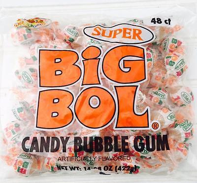 Albert's SUPER Big Bol Candy Bubble Gum 48 count