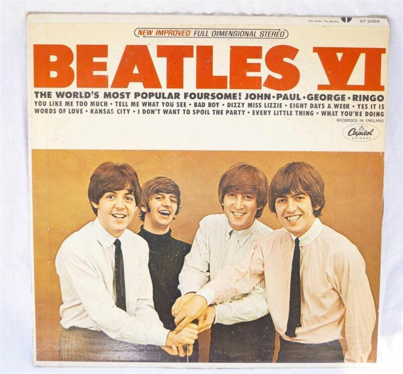 Vintage Vinyl Records Beatles Ebay