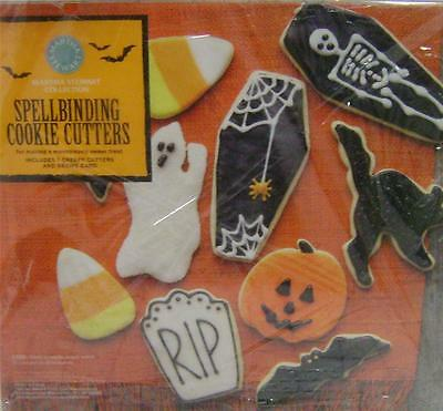 Creepy Halloween Cookies (New Martha Stewart Halloween Spellbinding Cookie Cutters set of 7 creepy)