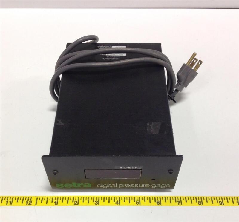 SETRA 117VAC/60HZ DIGITAL PRESSURE TRANSMITTER MODEL 360