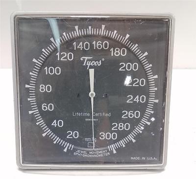 Tycos 20-300 Mmhg Sphygmomanometer Wall Mount