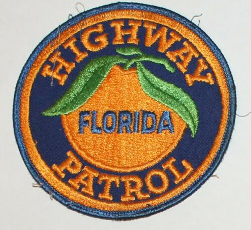 FHP FLORIDA HIGHWAY PATROL FL state Troopers State Police Used Worn patch #7