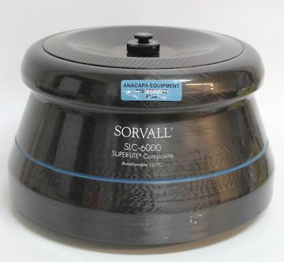 Sorvall Slc-6000 Rotor Super-lite For Evolution Rc Centrifuge 6 X 1l 6304