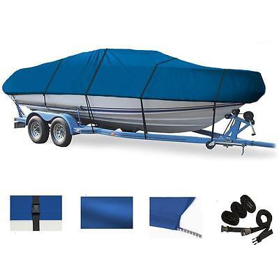BLUE BOAT COVER FOR SEA PRO SEA BOSS 180 DC O/B 2006
