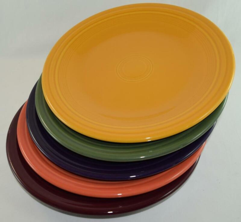 """Fiesta® 10-1/2"""" Dinner Plate - CHOICE of COLORS Current & Discontinued Available"""