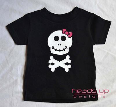 Kid Friendly Adult Costumes (Skull Shirt Girl Baby Newborn Baby Skeleton Shirt Costume Adult Skull)