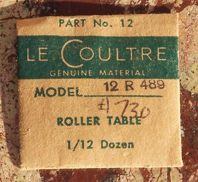 Vintage Jaeger Lecoultre Vintage Watch 489 Roller Table Vintage Watch Part 12