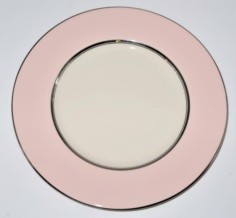 "Castleton China SHELL PINK Salad Plate, 8 3/8"" Across"