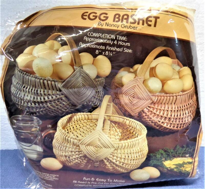 NEW Egg Basket Kit By Nancy Gruber