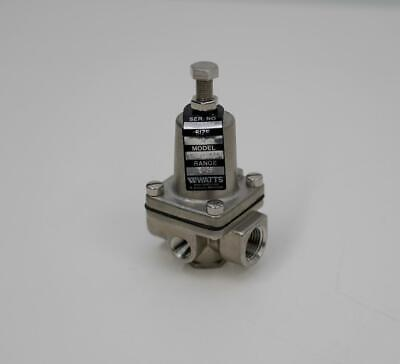 Watts Ss263apm1 Compact Stainless Steel Water Regulator