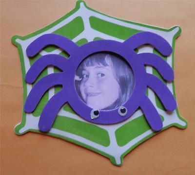 1 Spider Foam Photo Frame Magnet Kit Craft Fall Halloween Spooky - Halloween Magnet Craft