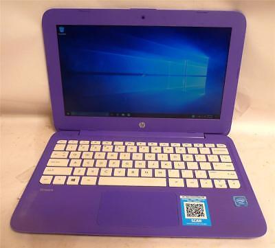 HP Hewlett Packard Stream 7265NGW Notebook Computer - Purple