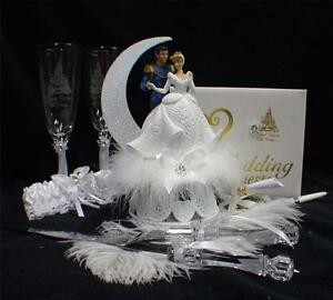 Cinderella Themed Cake Toppers