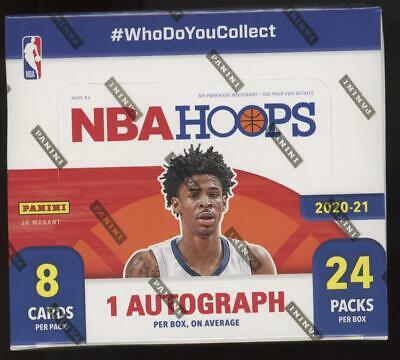 2020 Panini Hoops Basketball Factory Sealed Retail 24 Pack Box