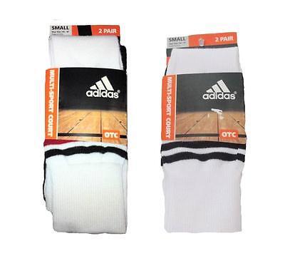 Adidas ~ ClimaLite 2-Pack Multi-Sport Court Socks $12 NWT