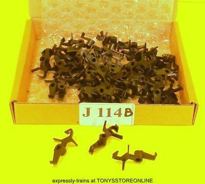 j114b BULK BONUS BUY jouef ho spare 1x 50 black couplings hornby dublo type hook