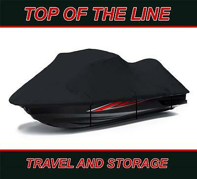 BLACK Seadoo Sea Doo Bombardier PWC GT,GTS GTX,GTI Jet Ski Trailerable Cover