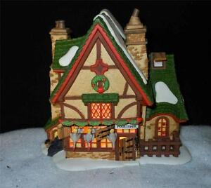 Dept 56 Dickens Village - Leacock Poulterer -  From Christmas Carol Revisited
