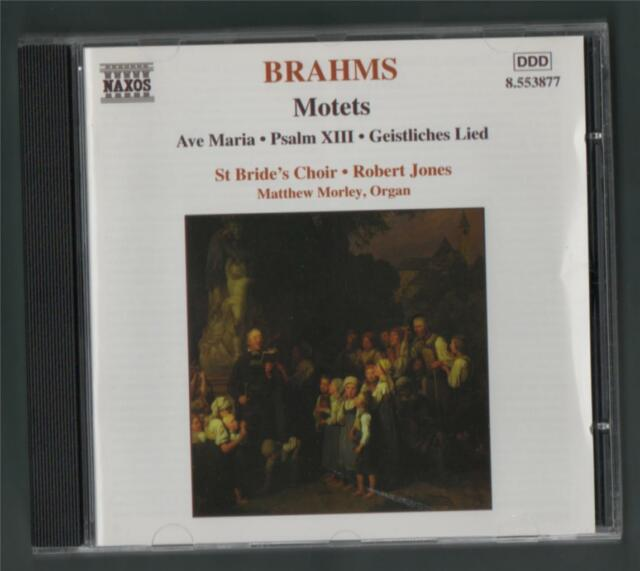Brahms: Motets. Ave Maria. Psalm XIII. Geistliches Lied St. Bride's Choir. y1.25