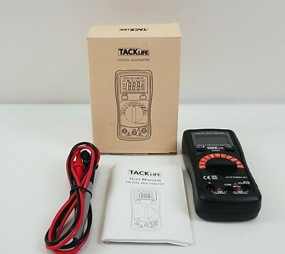 TACKLife Multimeter DM02A Electrical Tester