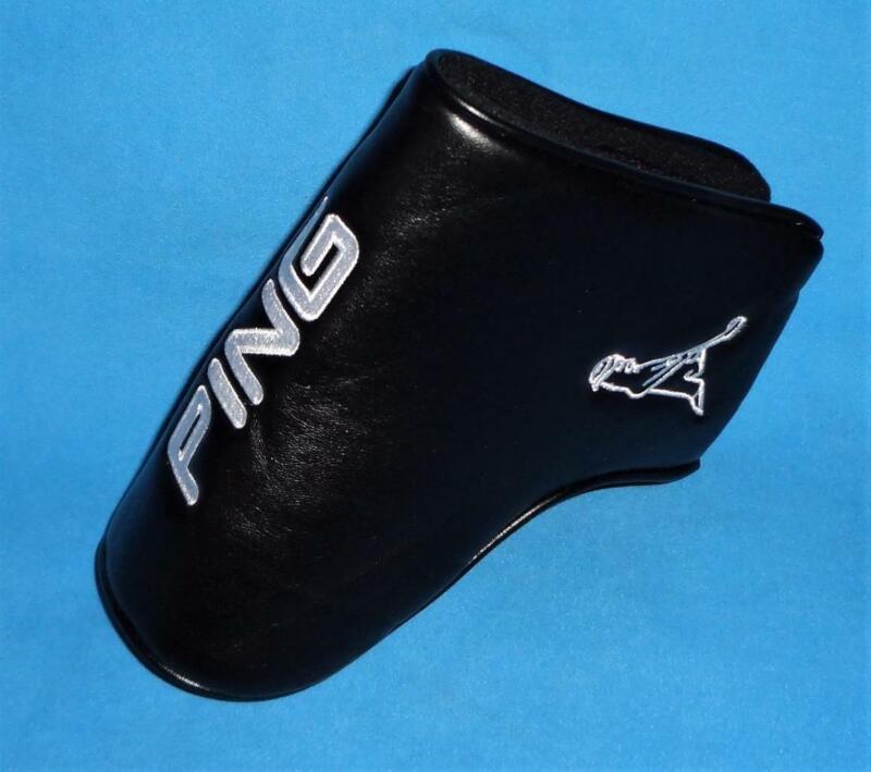 Ping PingMan -- Blade Putter Headcover --- Black / White * NEW *
