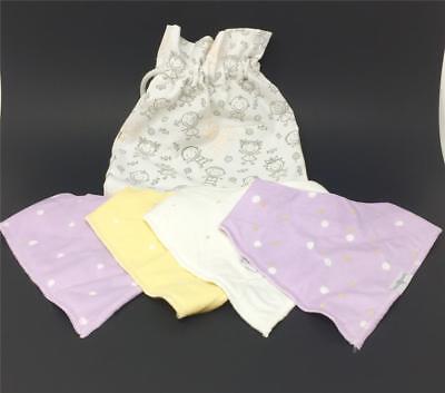Ballerina Themed Baby Shower (Baby Bandana Drool Bibs Girls Ballerina Themed 4 Pack Organic Cotton Shower)
