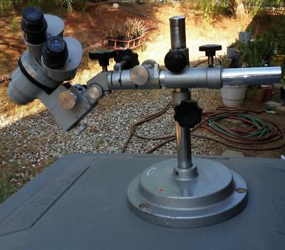 Vintage Nikon Microscope 77020 Stand 68163 Adjustable Japan Ocular 20x Used