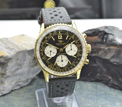 Vintage Breitling Navitimer Chronograph Watch Ref. 806 Vajoux Cal. 7738 Movement