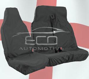 CITROEN BERLINGO 08 ON ENTERPRISE HEAVY DUTY BLACK WATERPROOF VAN SEAT COVERS