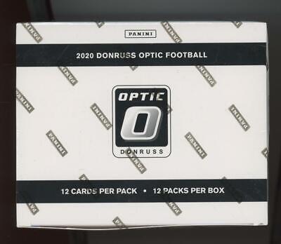 2020 Panini Donruss Optic Football Factory Sealed Fat Pack Cello Retail Box