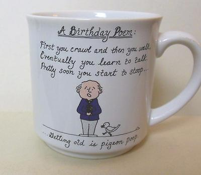 Birthday Paper Products (Recycled Paper Products Birthday Poem Mug Vintage)